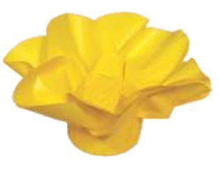 Forminha para Doces Finos - Copo de Leite Amarelo Vivo 30 unidades - Decora Doces - Rizzo Festas