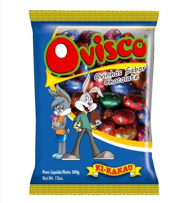 Ovinhos de Chocolate Ovisco 340g 50 unidades - Ki-Kakau Rizzo Embalagens