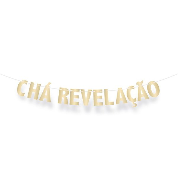 Faixa Decorativa Chá Revelação - Festa Boy or Girl 2 - 01 unidade - Cromus - Rizzo Festas