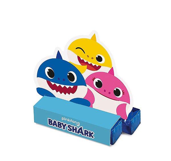 Caixa Bis - Festa Baby Shark - 08 unidades - Cromus - Rizzo Festas