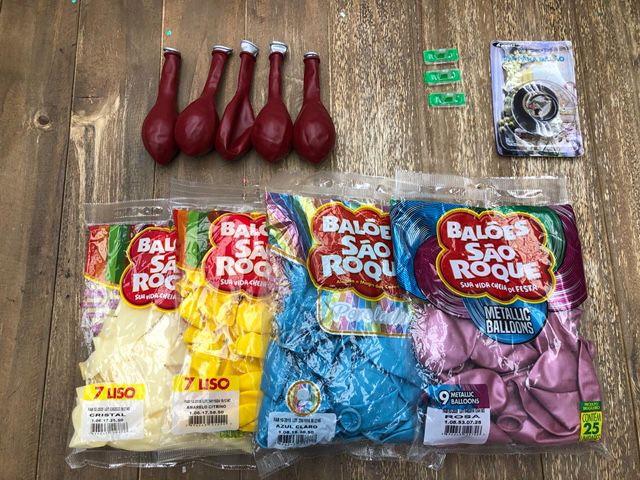 Kit Arco Balão Baby Shark Menina - 01 unidade - Rizzo Balões