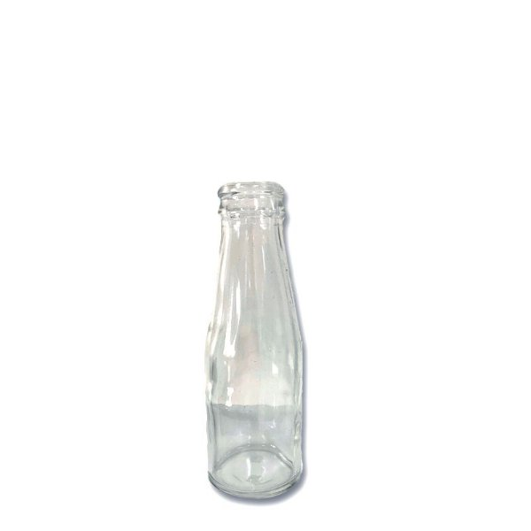 Garrafa de Vidro Caju 100ml 12,5cm x 4cm - 01 unidade - Rizzo Embalagens