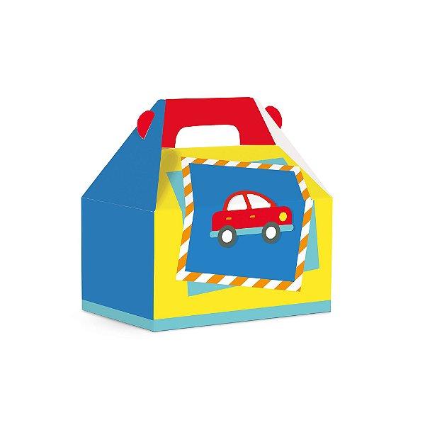 Caixa Maleta Kids - Festa Fábrica de Brinquedos - 10 unidades - Cromus - Rizzo Festas