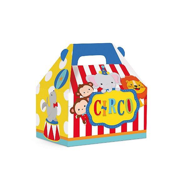 Caixa Maleta Kids - Festa Circo 2 - 10 unidades - Cromus - Rizzo Festas