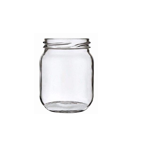 Pote de Vidro Conserva 250ml - 9,5x6cm - 01 unidade - Rizzo Embalagens