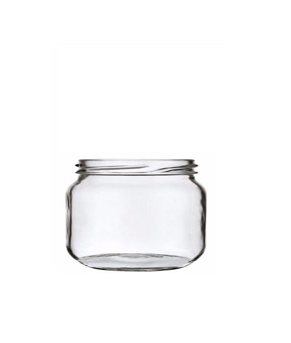 Pote de Vidro Patê 120ml - 5,5x5,5cm - 01 unidade - Rizzo Embalagens