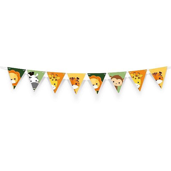 Faixa Decorativa - Festa Safari 2 - 01 unidade - Cromus - Rizzo Festas