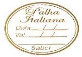 Etiqueta Palha Italiana - 100 unidades - Decorart - Rizzo Embalagens