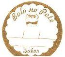 Etiqueta Bolo no Pote - 100 unidades - Decorart - Rizzo Embalagens