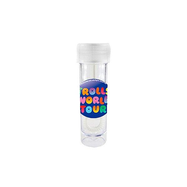 Mini Tubete Bolha de Sabão Lembrancinha Festa Trolls 2 - 10 unidades -  Rizzo Embalagens e Festas