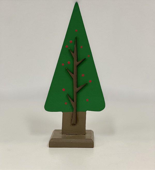 R25 - Decoração de MDF  - Árvore - Pinheiro - P - 01 Unidade - Mara Móveis - Rizzo Festas