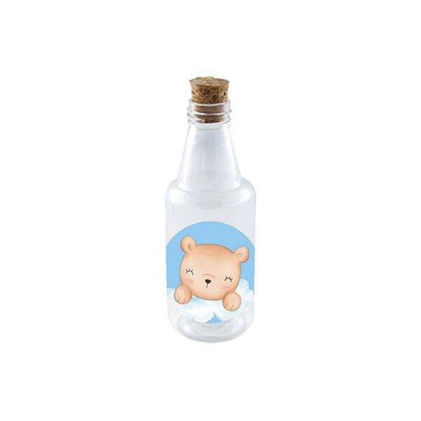 Garrafinha de Plastico 50ml com Tampa Rolha - Festa Bichinhos Baby - 10 Unidades - Rizzo Embalagens