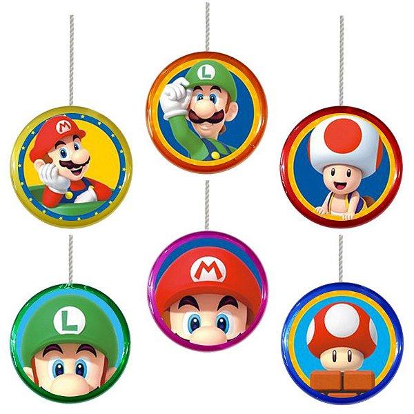 Ioiô para Lembrancinha Festa Mario  - 1 unidade - Rizzo Festa
