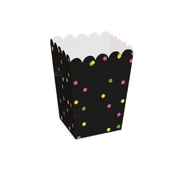 Caixa Pipoca - Festa Neon - 10 unidades - Cromus - Rizzo Festas