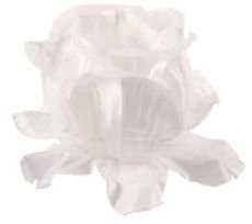 Forminha para Doces Finos - Rainha Branco/Branco - 40 unidades - Decora Doces - Rizzo Festas