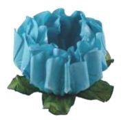 Forminha para Doces Finos - Rosa Maior Azul Piscina - 40 unidades - Decora Doces - Rizzo Festas