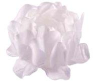 Forminha para Doces Finos - Rosa Maior Branco/Branco - 40 unidades - Decora Doces - Rizzo Festas