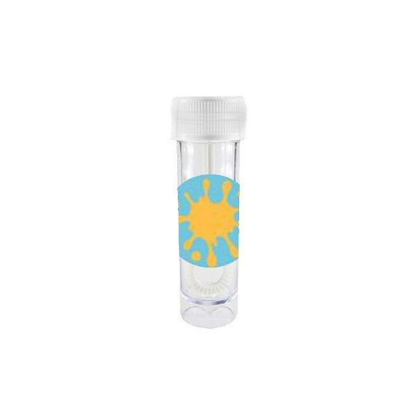 Mini Tubete Bolha de Sabão Lembrancinha Festa das Cores - 10 unidades -  Rizzo Embalagens e Festas