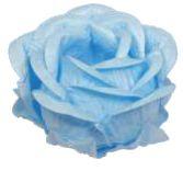 Forminha para Doces Finos - Magnólia Azul Claro- 30 unidades - Decora Doces - Rizzo Festas