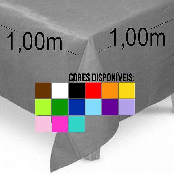 Toalha de Mesa Quadrada em TNT (1,00m x 1,00m) 5 unidades - Best Fest - Rizzoembalagens
