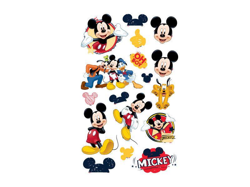 Mini Personagem Decorativo Mickey Classico - 17 Unidades - Regina Festas