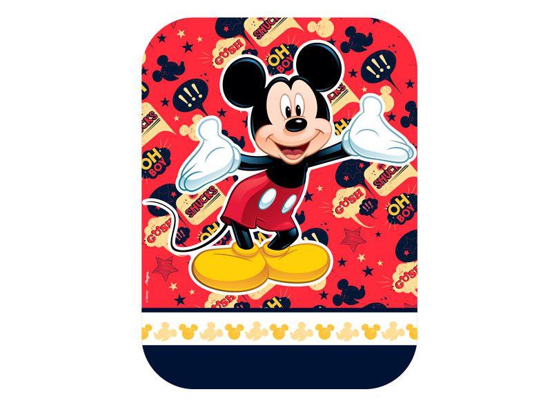Tampa para Marmitinha P Festa Mickey - 9,5x12cm - 8 unidades - Regina - Rizzo Embalagens