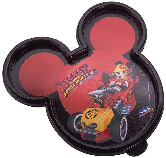 Pote Mickey Sobre Rodas Plasútil Preto 320ml - 01 Unidade - Plasútil - Rizzo Festas