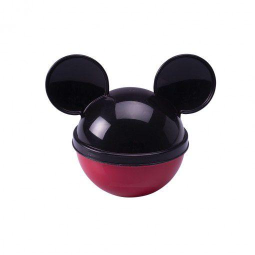 Pote de Plástico com Tampa em Formato de Orelha Mickey - 220ml - 01Unidade - Plasútil -  Rizzo Festas