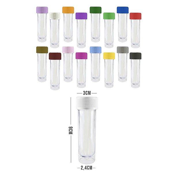 Mini Tubete Lembrancinha 9cm 10 unidades - Rizzo Embalagens e Festas
