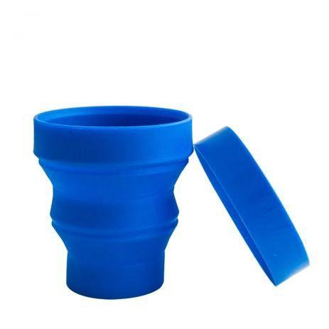 Copo Retrátil Azul - 01 Unidade - Turquesa Comércio - Rizzo Festas