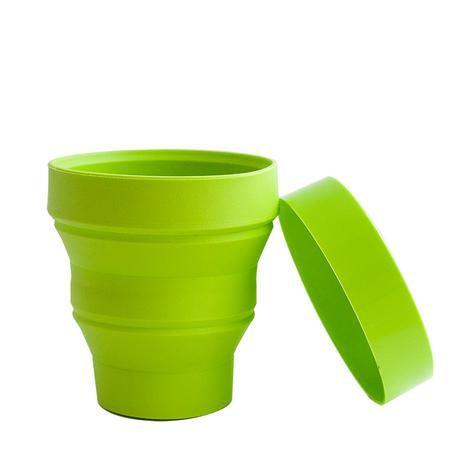 Copo Retrátil Verde - 01 Unidade - Turquesa Comércio - Rizzo Festas