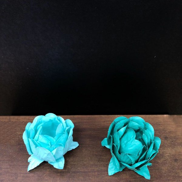 Forminha para Doces Finos - Bela Duo Tiffany e Verde Militar - 20 unidades - Decora Doces - Rizzo Festas