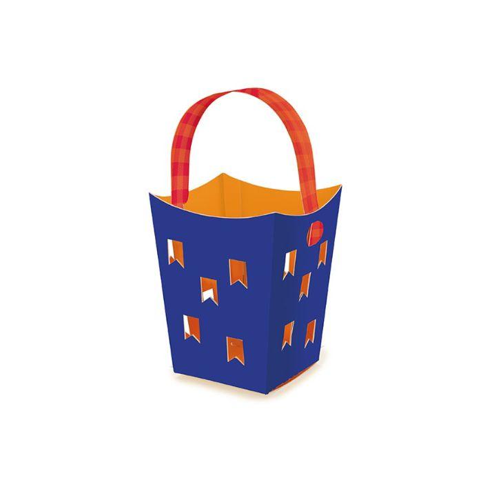 Cachepot para Vela Festa Junina - 06 unidades - Cromus Festas - Rizzo Embalagens