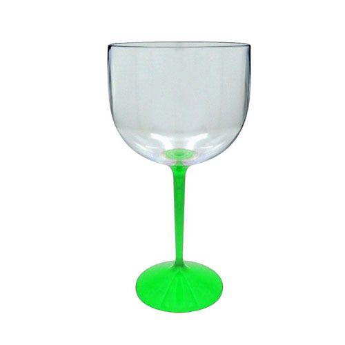Taça De Gin - 500ML - Cristal Base Colorida - 01 Unidade - Rizzo Festas
