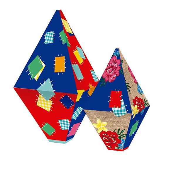 Balão Decorativo Composê Arraia - 04 Unidades - Cromus Festas - Rizzo Festas