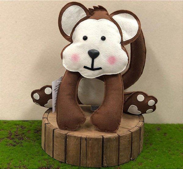 Macaco do Safári em Feltro - 01 Unidade - Pé de Pano - Rizzo Festas