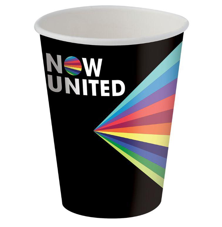 Copo de Papel 200ml Festa Now United - 08 Unidades - Festcolor - Rizzo Festas
