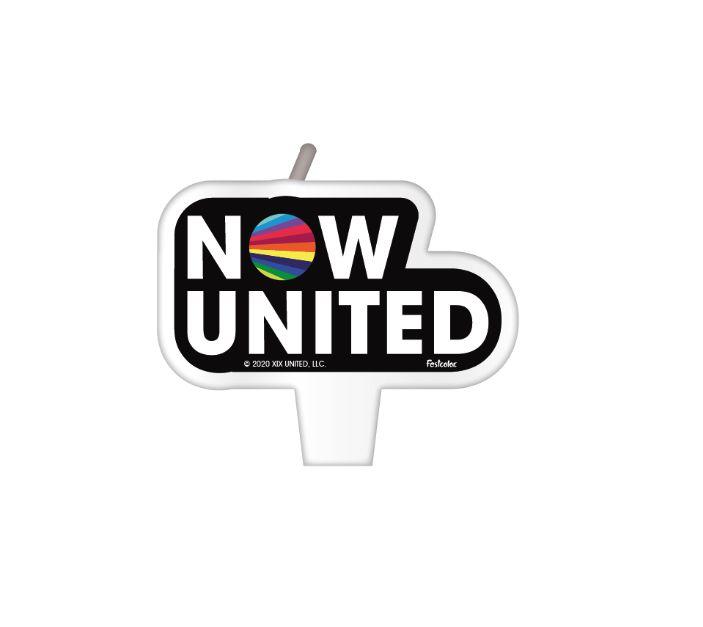 Vela Plana Festas Now United - 01 Unidade - Festcolor - Rizzo Festas