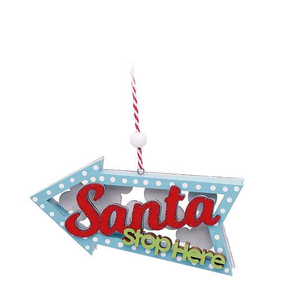 Enfeite para Pendurar Natal - 01 unidade - Cromus Natal - Rizzo Embalagens
