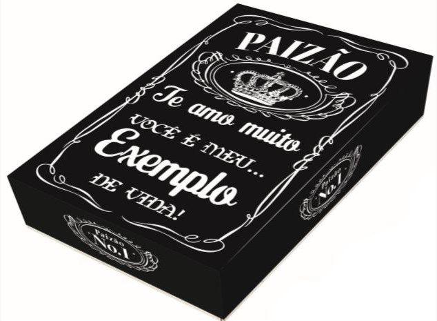 Caixa Divertida para 12 doces Paizão Ref. 807 - 03 unidades - Erika Melkot Rizzo Embalagens