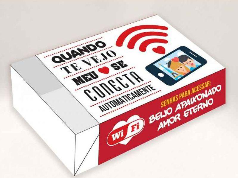 Caixa Divertida para 6 doces WiFi Ref. 519 - 10 unidades - Erika Melkot Rizzo Embalagens