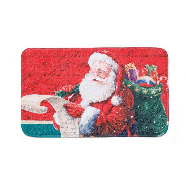 Tapete de Natal Noel 60cm Antiderrapante - 01 unidade - Cromus Natal - Rizzo Embalagens