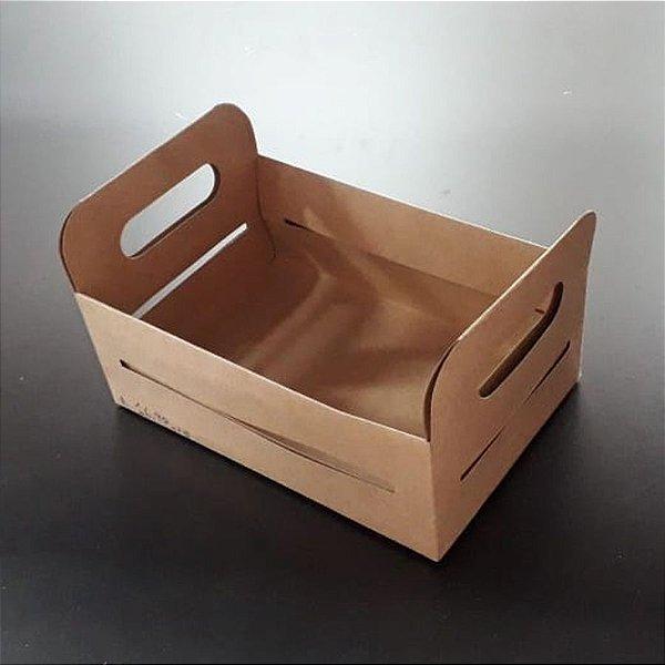 Caixote de Papel Kraft para Lembrancinha - 5 unidades - Rizzo Embalagens
