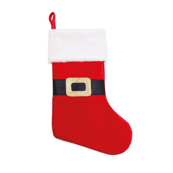 Enfeite Bota Roupa Noel 40cm - 01 unidade - Cromus Natal - Rizzo Embalagens