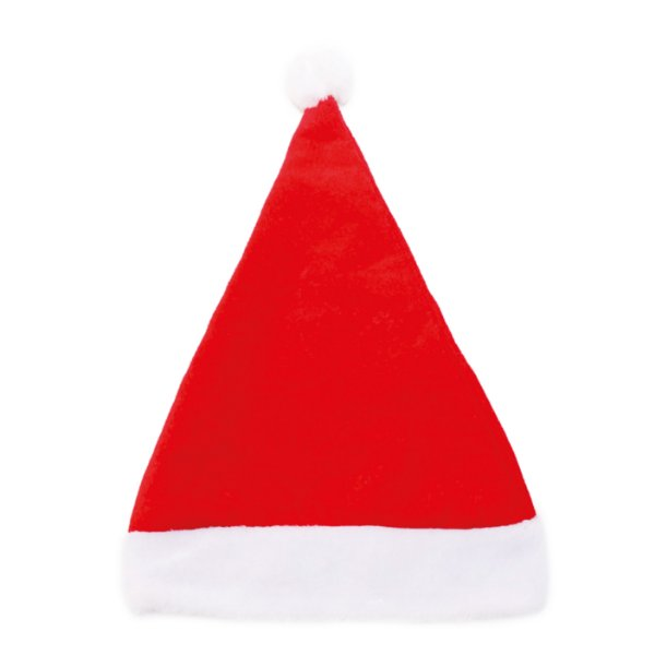 Gorro Papai Noel Vermelho/Branco - 01 unidade - Cromus Natal - Rizzo Embalagens