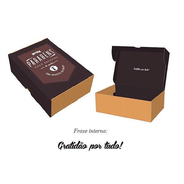 Caixa Pratice (6 Doces) Mais que uma Gravata Ref.2727 - 10 unidades - Rizzo Embalagens