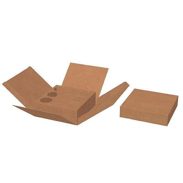 Caixa Explosão Kraft Ref.2714 - 10 unidades - Rizzo Embalagens