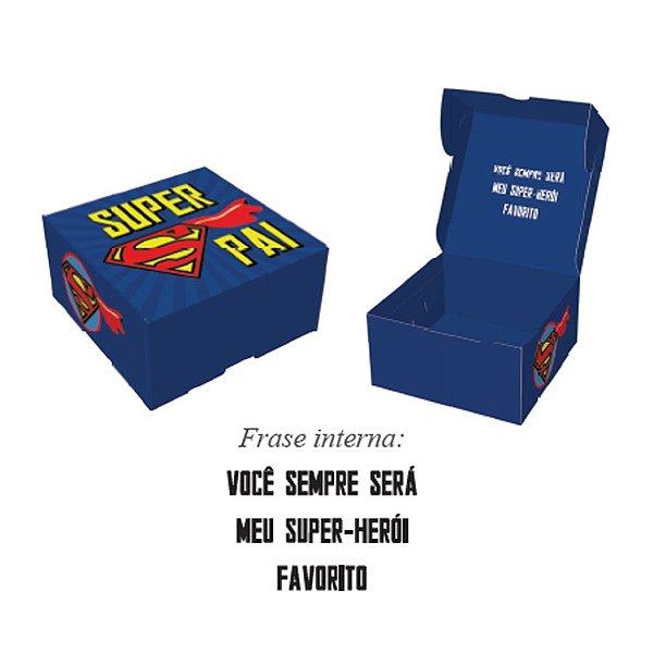 Caixa Pratice (4 Doces) Super Pai Ref.2731 - 10 unidades - Rizzo Embalagens