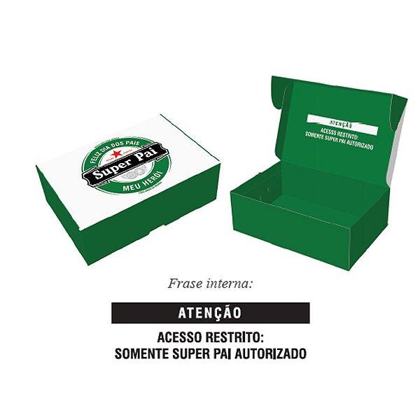 Caixa Pratice (6 Doces) Pai desde Sempre Ref.2732 - 10 unidades - Rizzo Embalagens