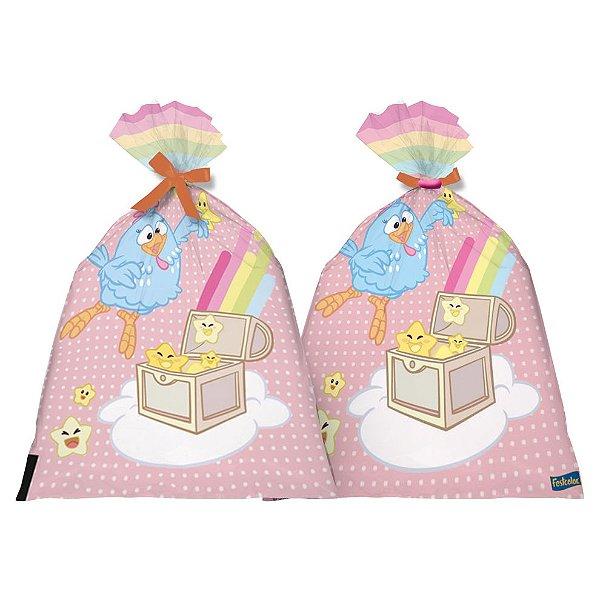 Sacolinha Surpresa Festa Galinha Pintadinha Candy - 8 unidades - Festcolor - Rizzo Festas